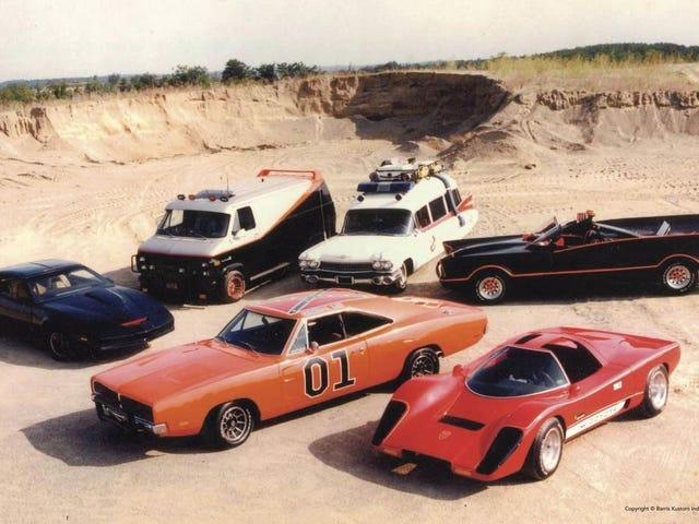 究極のテレビと映画の車のコレクション。 これはほとんど...