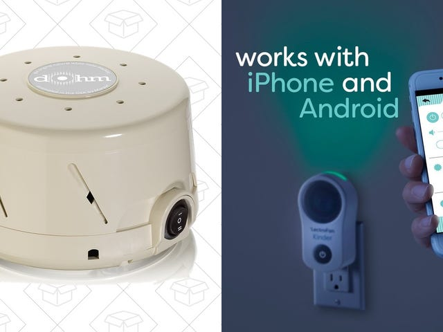 Rest Easy With a Couple of White Noise Machine Deals, Including One For Babies