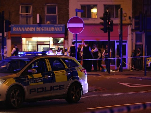 Worshippers Leaving Mosque in North London Struck By Vehicle