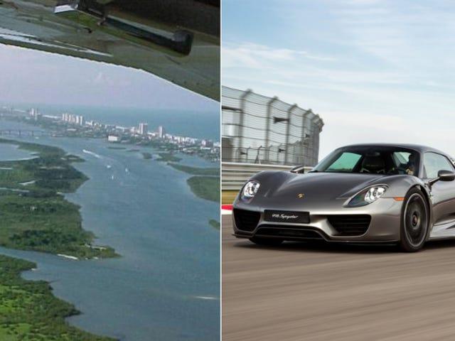 Флорида хворіє на свій острів на $ 1,000,000, хоче продати Porsche 918