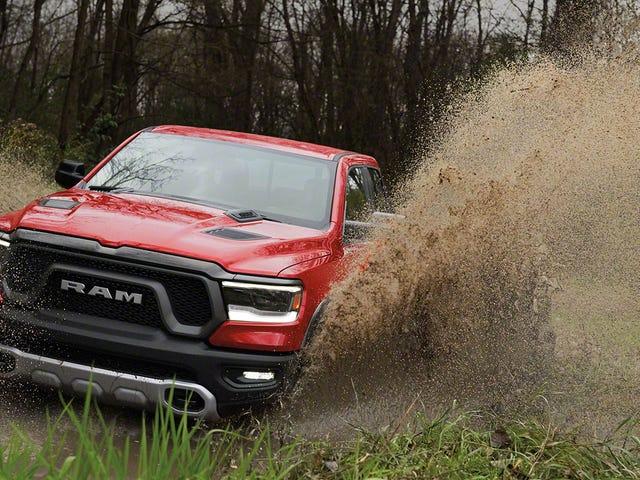 A Press Photo Of The 2019 Ram Rebel May Hint At An Upcoming Hellcat Truck