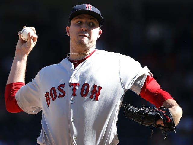 Red Sox Pitcher Carson Smith Suffers Potentially Major Injury After Throwing His Glove In Frustration