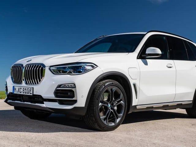 El 2021 BMW X5 Hybrid impulsado por más de 80 HP y 110 LB-FT del nuevo Straight Six