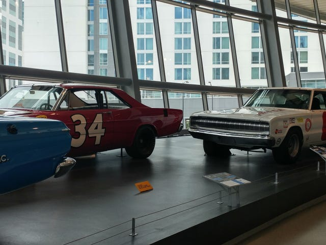 Went to the NASCAR hall of fame today
