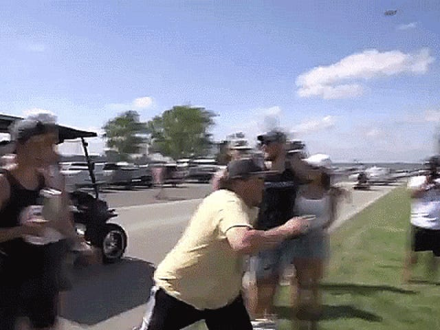 Drunk Indianapolis 500 Fans Are The Gift That Keeps On Giving