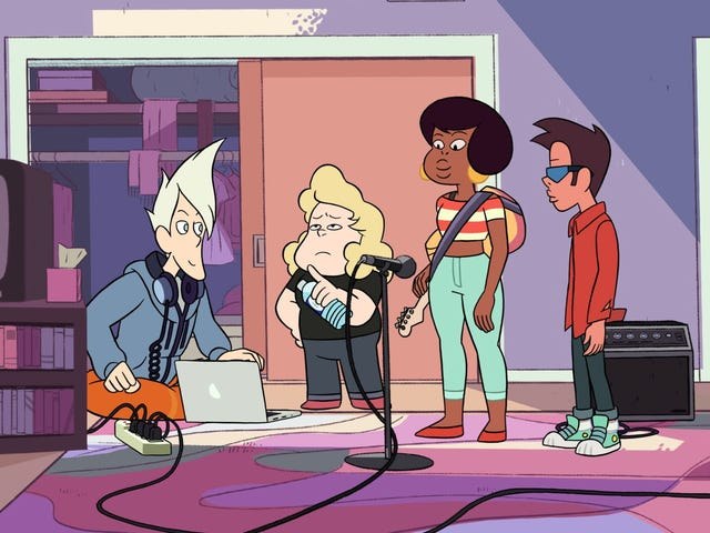 "Sadie slays at ""The Big Show"" on a killer Steven Universe"