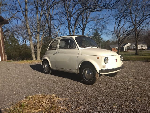 '70 Fiat 500 - what say you oppo?