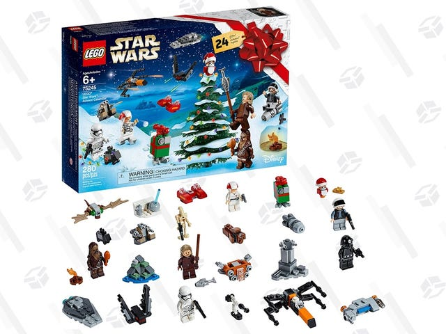 This Is the LEGO Star Wars Advent Calendar Deal You're Looking For