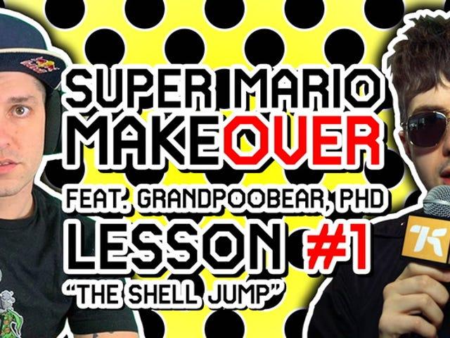 En Mario Master trente meg på den vanskeligste Mario-teknikken