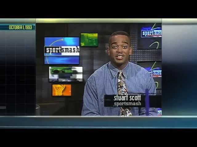 1993年10月1日からのスチュアートスコットの最初のESPN2スポーツ放送はここにあります