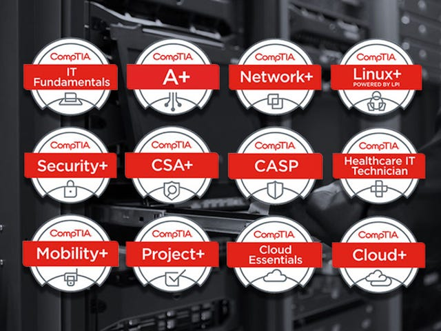 Save Hundreds On140+ Hours Of CompTIA Certification Training ($59)