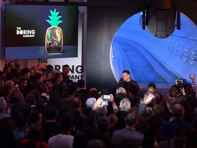 Elon Musk Says 'Hyperloop' Tunnel Is Now Just a Normal Car Tunnel Because 'This Is Simple and Just Works'