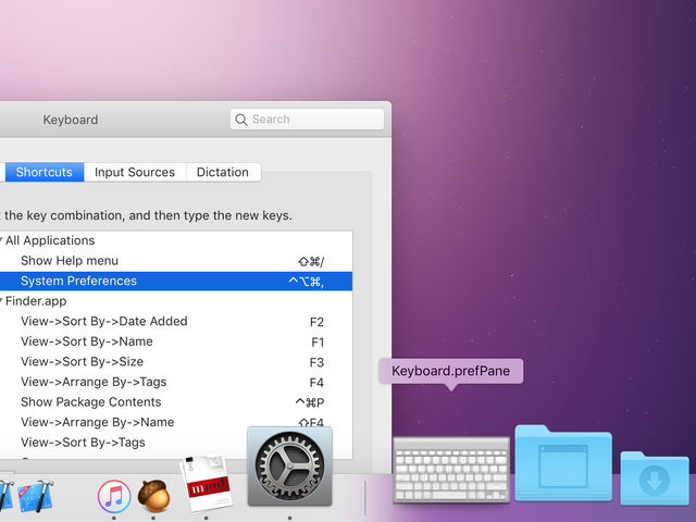 How to Add a Dock Shortcut for Any macOS System Preference Pane