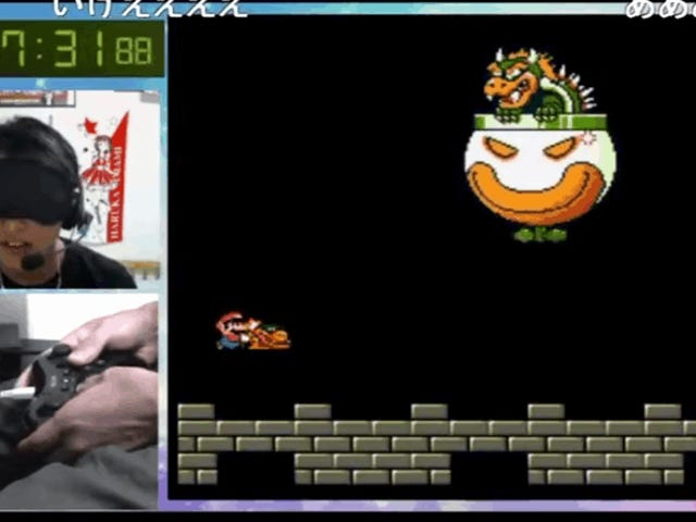 A New World Record For Beating <i>Super Mario World</i> While Blindfolded
