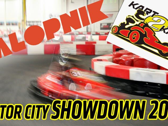 Êtes-vous plus rapide que Jalopnik?  Venez karting avec nous et découvrez!