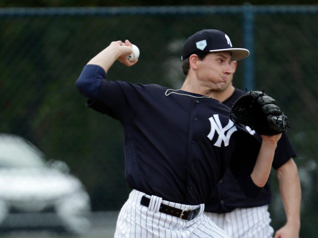 The New York Yankees have released pitcher Danny Farquhar, 14 months after he suffered a dangerous brain hemorrhage and a…