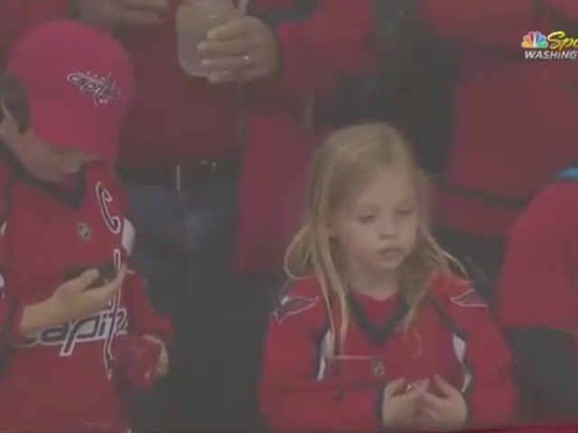 Let's Spend Way Too Much Time Breaking Down An Adorable Little Girl's Quest For A Puck [UPDATE]