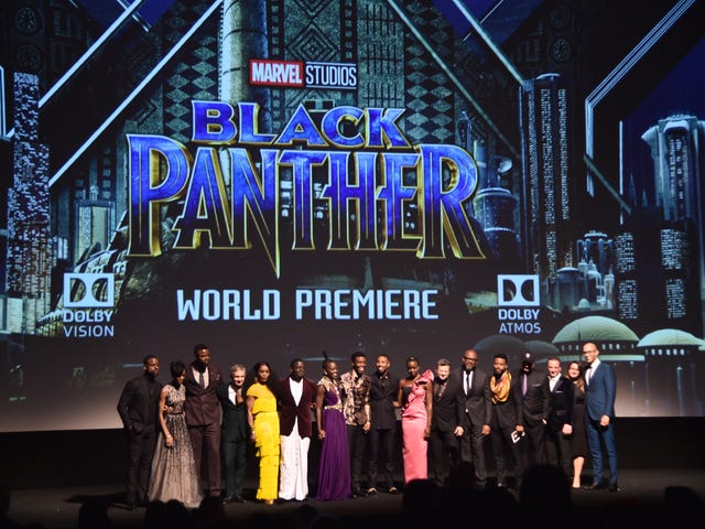 The 1st Reactions Are In, and as Expected, Black Panther Is Lit