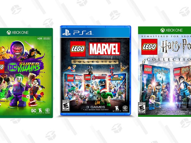 LEGO Games Start at $9 Today, Including Three LEGO Marvel Games for $15