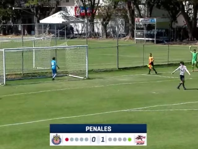 Here's One Of The Weirdest Penalty Kicks You'll Ever See