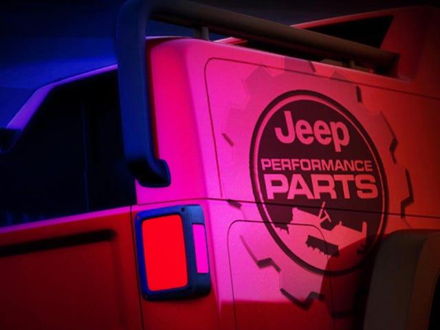 Wir bekommen diesen Monat ein neues Jeep-Pickup-Konzept
