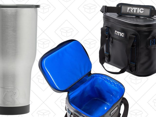 RTIC's Reader-Favorite Tumblers and Coolers Make Great Gifts, and Are Back On Sale