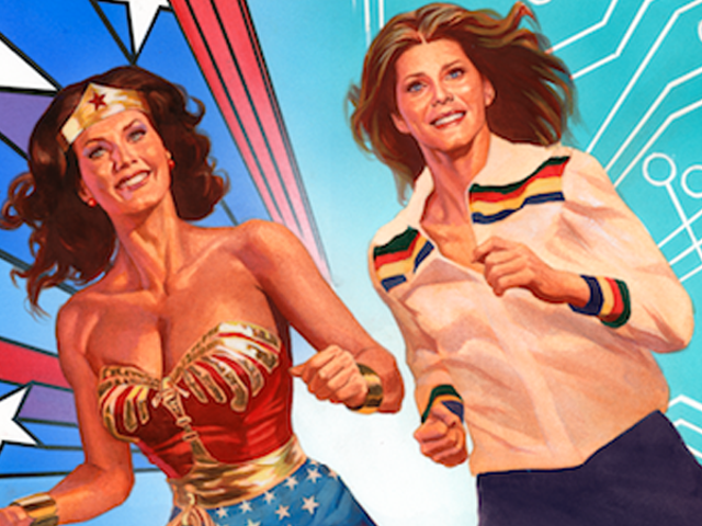Wonder Woman '77 and The Bionic Woman Are Teaming Up For a Groovy New Comic