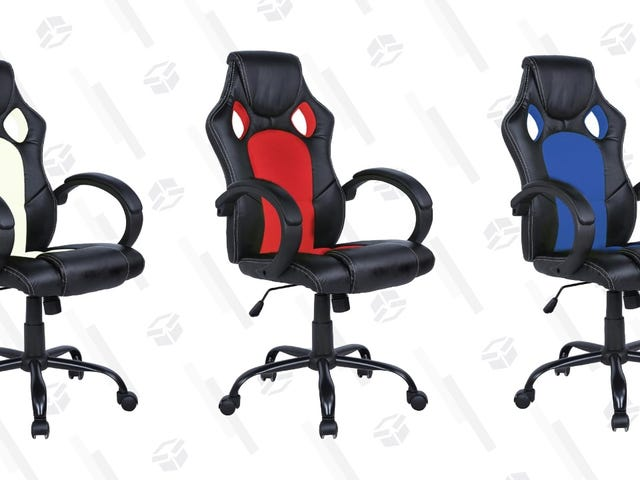 Upgrade Your Desk Chair For Just $52, In the Color Of Your Choice