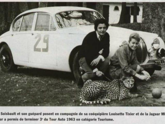 La championne du rallye Annie Soisbault n'avait pas peur de se plier aux règles pour gagner