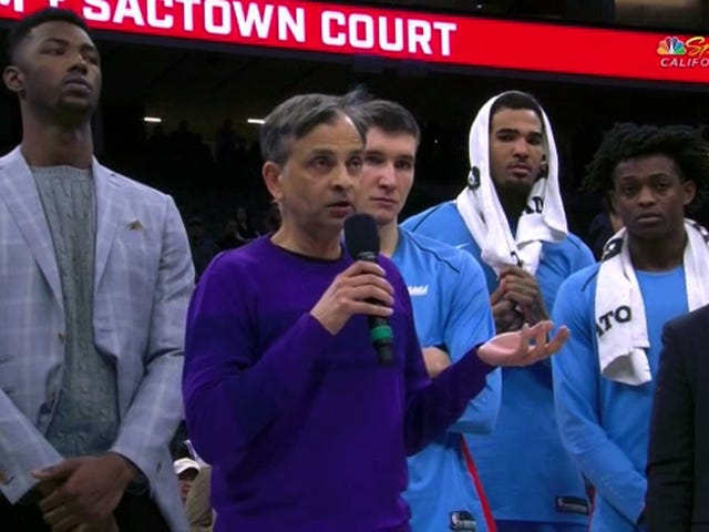 "Kings Owner Vivek Ranadivé: ""We At The Kings Recognize Your People's Ability To Protest Peacefully, And We Respect That"""