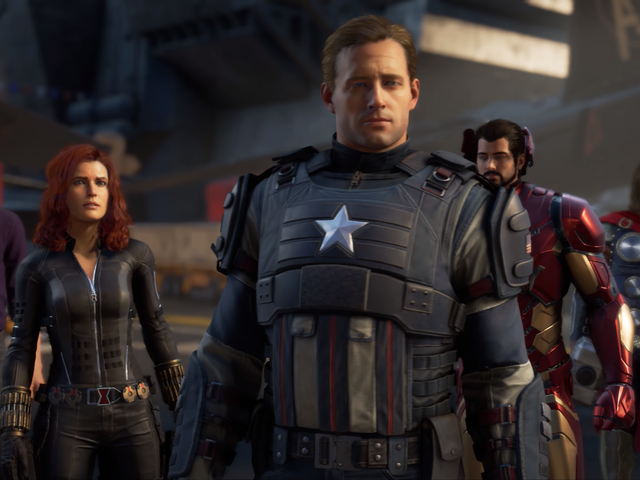 Get Your First Look at The Avengers, Earth's Mightiest New Video Game