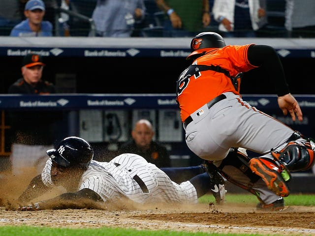 Didi Gregorius's Playoff-Clinching Slide Might Cost Him The Rest Of The Season
