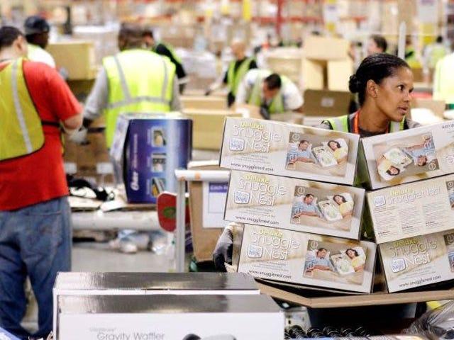 """""""Estoy embarazada y me pusieron de pie 10 år synd"""": Los almacenes de Amazon och UK llamaron 600 veckor och ambulans"""