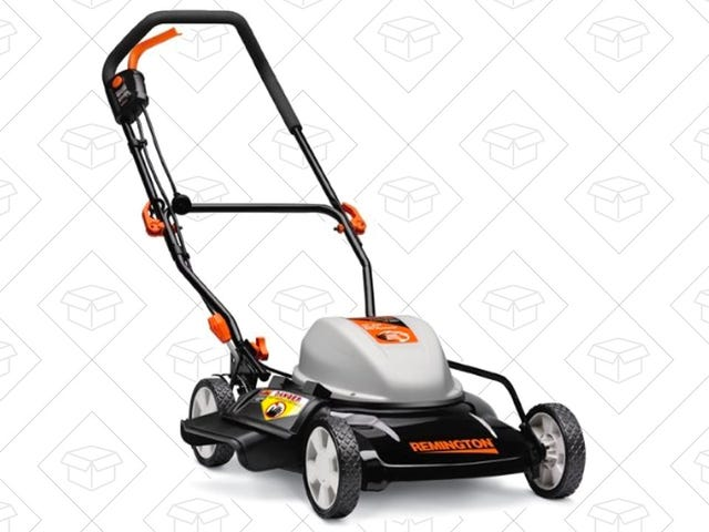 Go Green With This Remington Electric Push Mower, Just $140