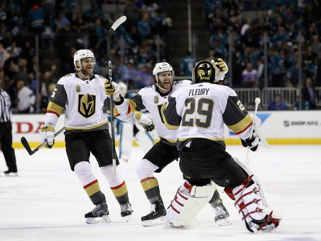 The Golden Knights Won A Game Of Inches