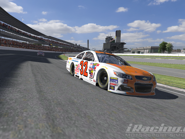 Team Oppo Competes in the iRacing Brickyard 400