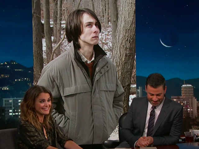 "Before The Americans' finale, Jimmy Kimmel stumps Keri Russell playing ""Did I Murder You?"""