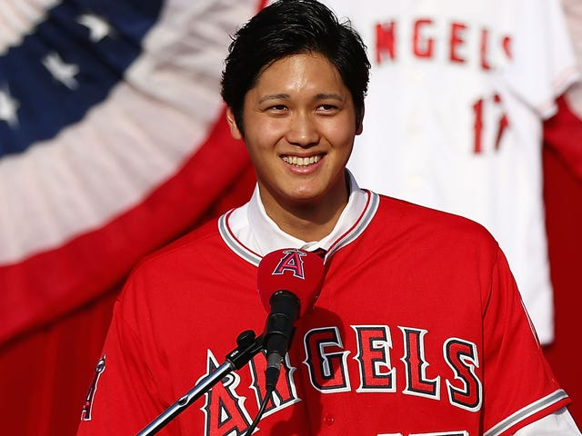 Report: Aw, Man, Shohei Ohtani Has Mild Ligament Damage In His Elbow