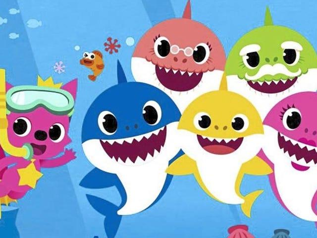 Enseñe a su hijo RCP con 'tiburón bebé'