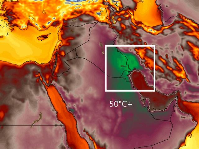 54º C - nuevo récord de temperatura en la historia del hemisferio oriental