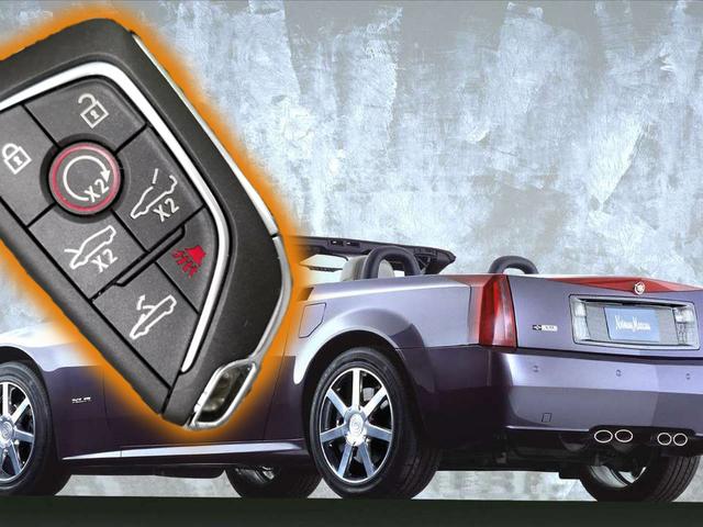 Hva helvete går på med denne mysteriet Cadillac nøkkelen?