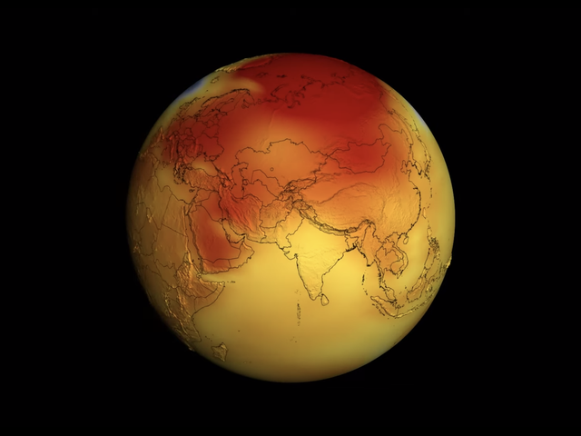Earth: Still Hot