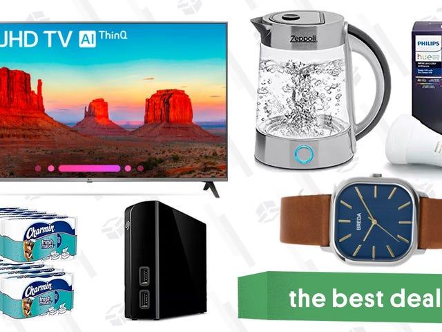 As melhores ofertas de sábado: TV inteligente 4K, lâmpadas Philips Hue, relógios Breda e muito mais
