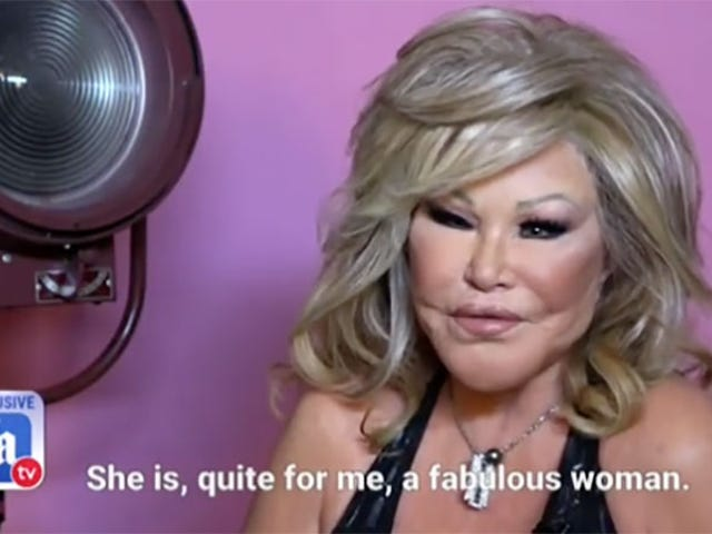 Jocelyn Wildenstein's Fiancé: 'She Never Really Did Anything to Change Her Face'