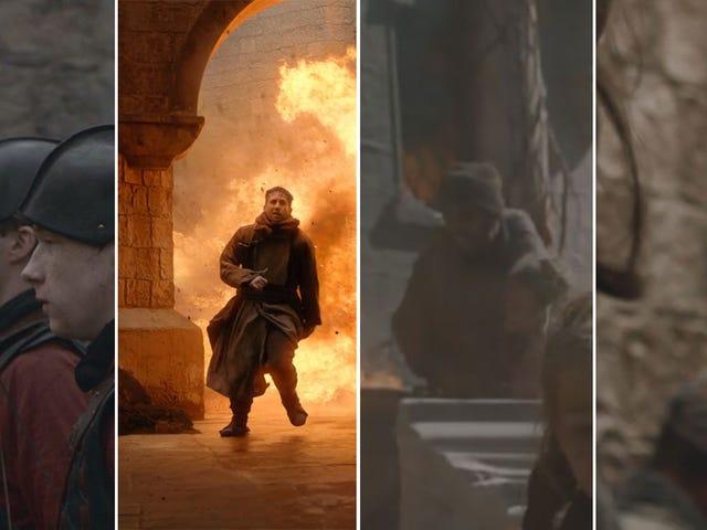 Cậu bé, Aaron Rodgers có mặt ở mọi nơi trong Game Of Thrones