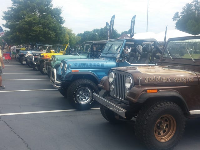 Swoon Over A Bunch Of Jeeps With Us Live Right Now!
