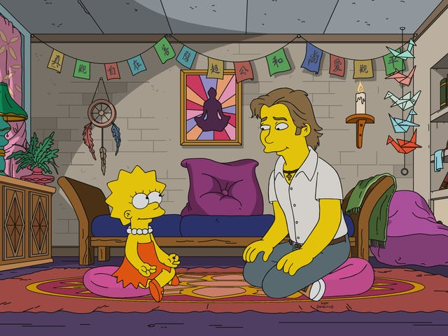 Pete Holmes pens the first half of a lovely, thought-provoking Simpsons about faith