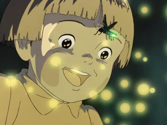 <i>Grave Of The Fireflies</i>映画のポスターの<i>Grave Of The Fireflies</i>隠れた秘密があります