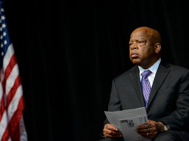 Sign of the Times: Rep. John Lewis Admits He's Less Hopeful in 2019 Than He Was on Bloody Sunday