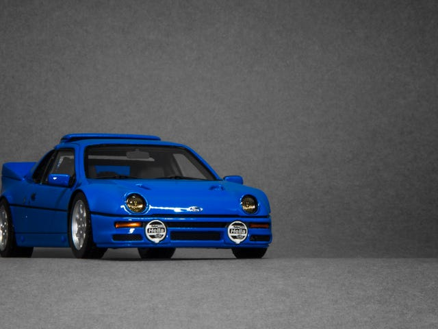 LaLD Car Week 2018: Ford Blue RS200